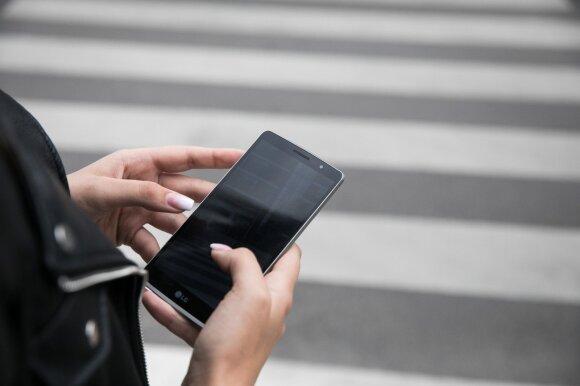 Mobiliaus telefono naudojimas