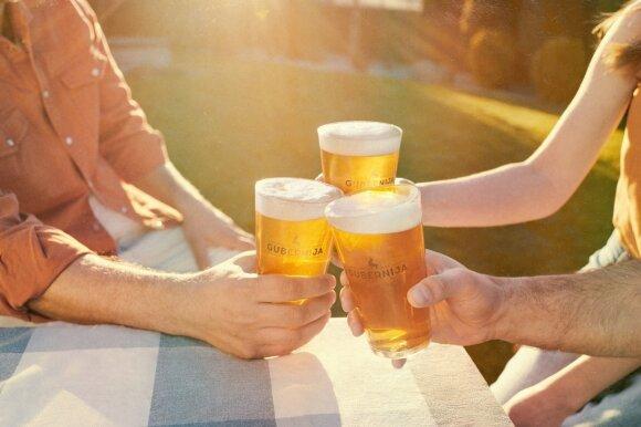 Gubernija atnaujino nealkoholinį alų