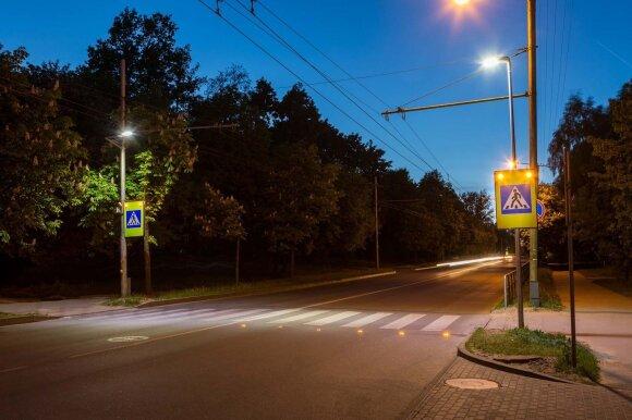 LED įspėjamieji žibintai