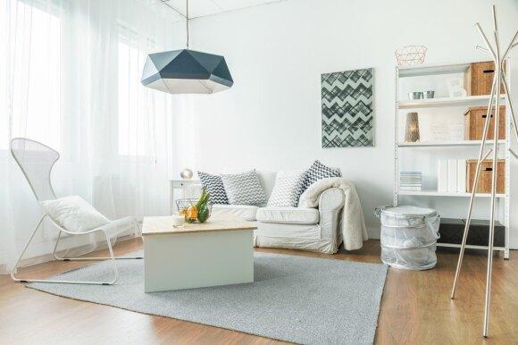 Kaip reikia įsikurti mažame bute, kad turėtumėte daugiau erdvės