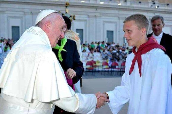 Susitikimas su Popiežiumi