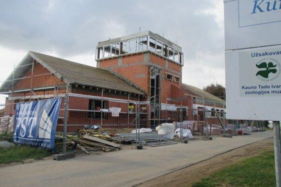 Rekonstrukcijos darbai Ventės Rago stotyje