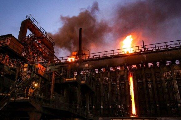 Авдеевский коксохимический завод. Фото Константин Черников