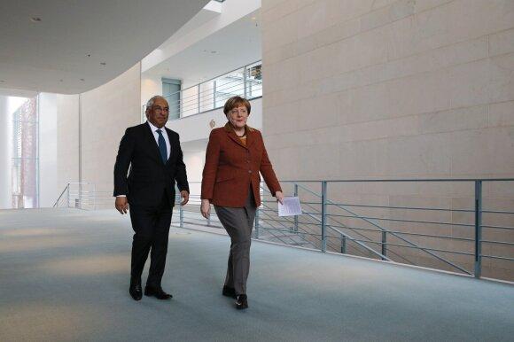 Antonio Costa, Angela Merkel