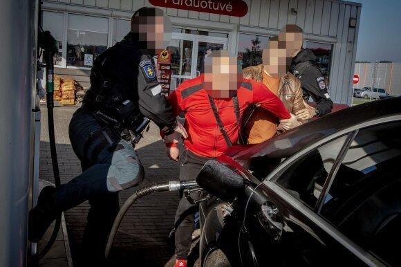 Slaptos policijos operacijos užkulisiai – kaip buvo sulaikytas ginkluotas narkotikų prekeivis