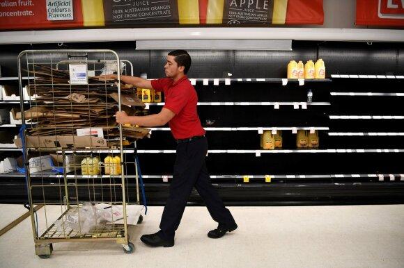 Gaisrai palaužė Australijos ekonomiką: prognozės gero nežada