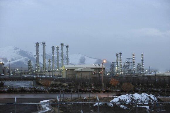 Irano Arako sunkiojo vandens gamykla