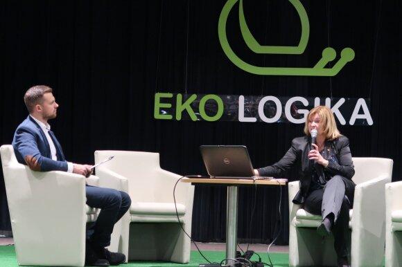 """""""Ekologikos"""" parodos pranešėja A. Eigminienė"""