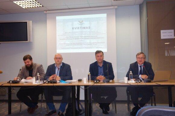 Российские политбеженцы презентовали в Литве доклад о политзаключенных