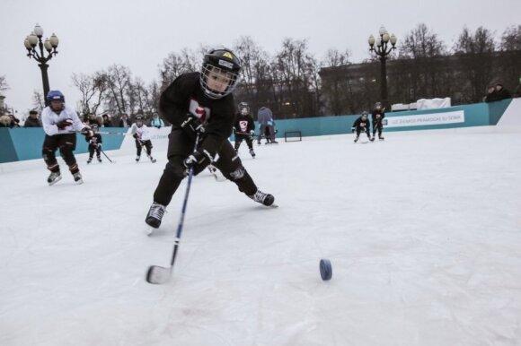 Jau greitai vilniečiai galės džiaugtis net penkiomis ledo čiuožyklomis