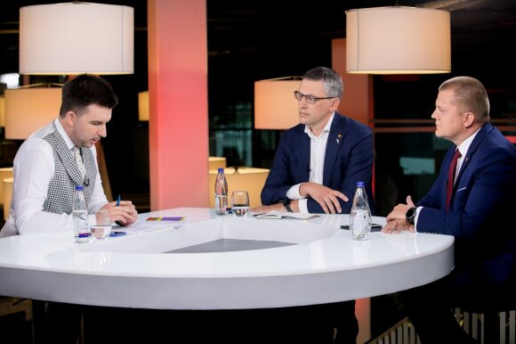 Arnas Mazėtis, Vytautas Bakas, Dainius Gaižauskas