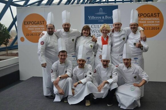 "2014 m. pasaulio kulinarijos čempionate ""Expogast Villeroy & Boch Culinary World Cup 2014""."