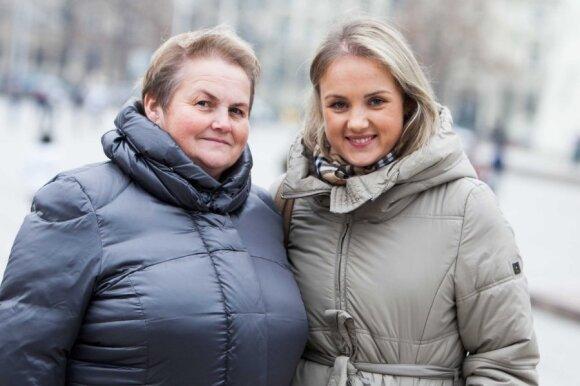 Ramunė Armonaitė su mama