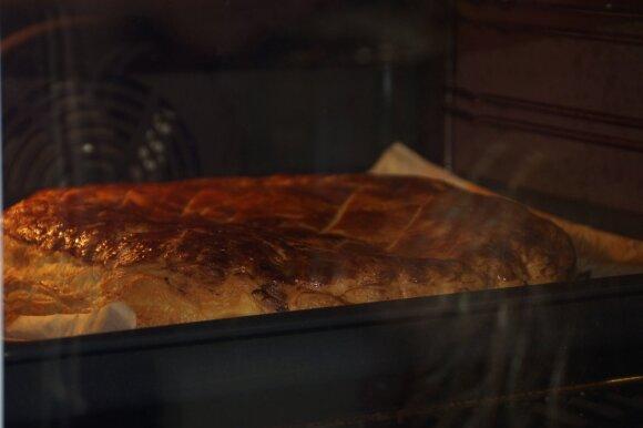 Prancūziškas Trijų karalių pyragas