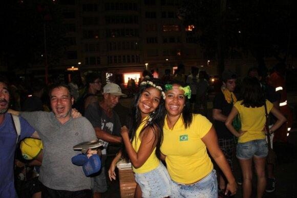 Pasaulio čempionato metu brazilai dažnai randa progų audringiems vakarėliams