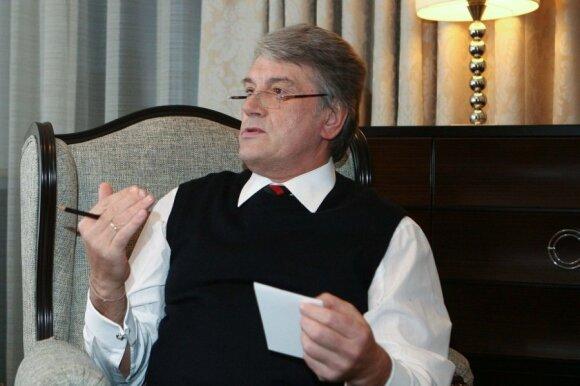 Виктор Ющенко: за Украину нужно бороться и брать ее в ЕС такой, как она есть