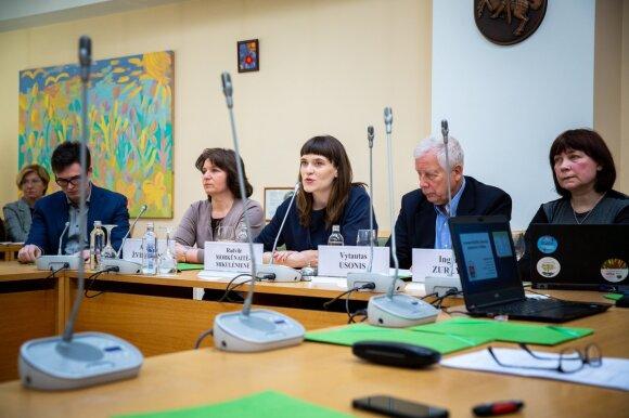 Konferencija Seime: Imunoprofilaktika Lietuvoje – visuomenė sveikatos garantija (Mindaugo Mikulėno nuotr.)