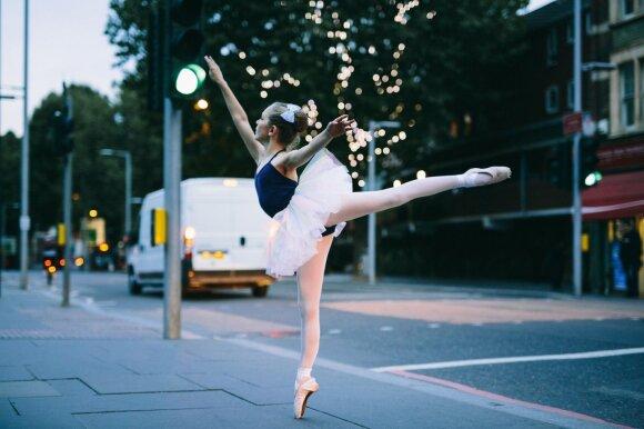 Dominyka Neila mėgsta klasikinį baletą