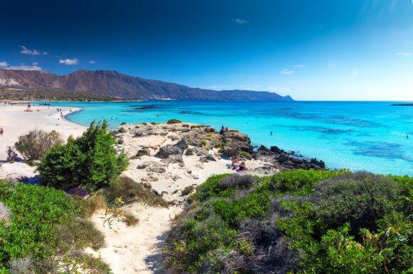Elafonissi paplūdimys , Kreta
