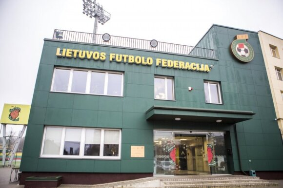 The Lithuanian Football Federation's offices