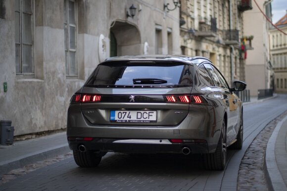 """Peugeot 508 SW"" / Eglės Girdenytės nuotr."