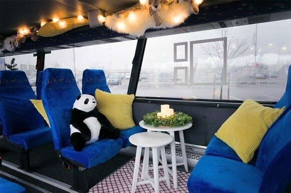 """Ikea"" kalėdinis autobusas"