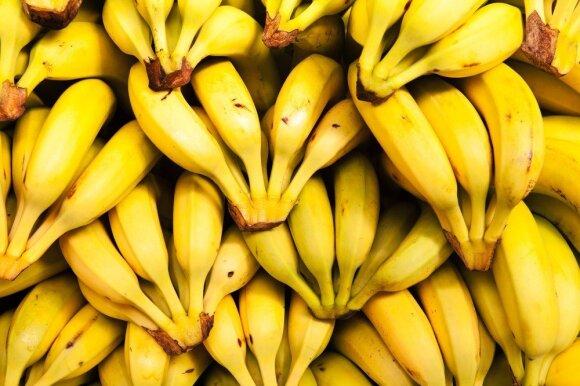 Visa tiesa apie bananus – ekspertai įvardijo šio vaisiaus privalumus priklausomai nuo spalvos