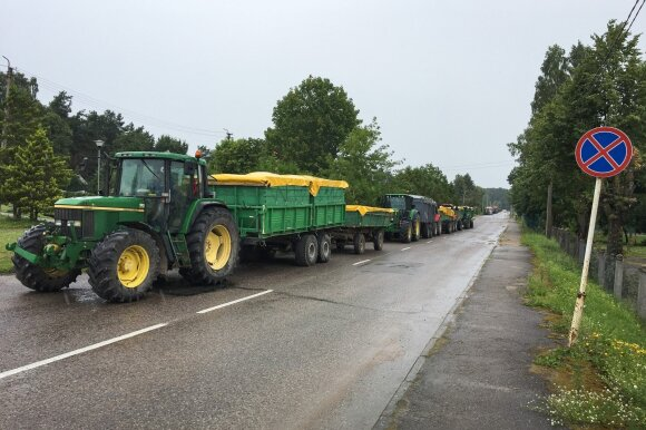 Dzūkijos savivaldybėse – skirtingas valdžios požiūris į ūkininkų protesto akciją
