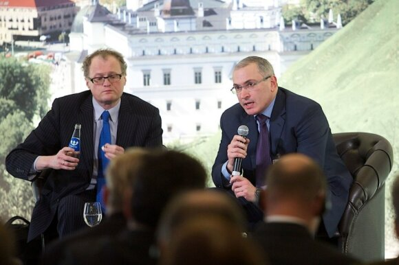 Mikhail Khodorkovsky's speech in Vilnius in full