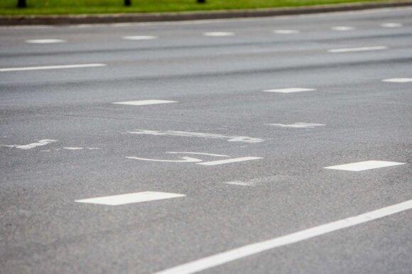 Vilniaus savivaldybės eksperimentas nepavyko: perbraižomos kelių juostos