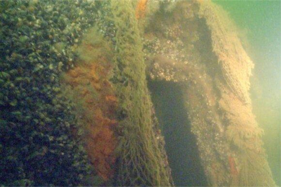 Ilgus metus povandeninei archeologijai atidavęs mokslininkas džiaugiasi, kad geros būklės paskendę mediniai laivai Baltijos jūroje gali išsilaikyti labai ilgai