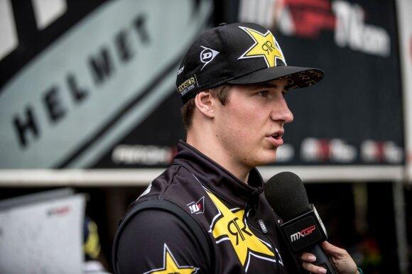 Arminas Jasikonis Pasaulio motokroso čempionate