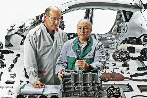 """""""Dekra"""" ekspertai neturi priekaištų variklio cilindrams ir stūmokliams"""