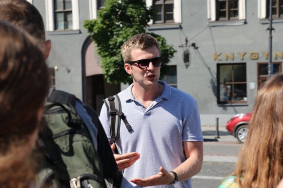 """""""Три столицы"""" Литвы с молодёжью из Беларуси: изюминка - старое соседствует с новым"""