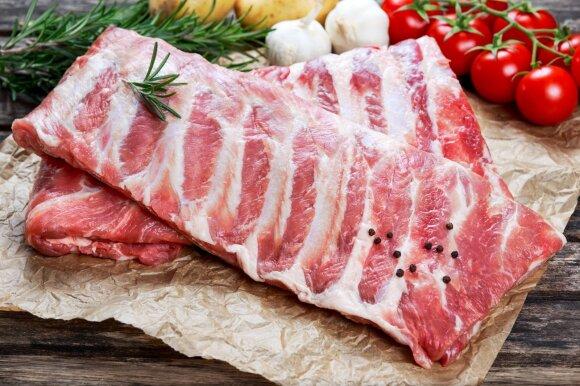 Vokietijos ūkiuose plintanti infekcija paveiks kiaulienos kainas Lietuvoje