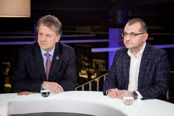 Saulius Čaplinskas, Vytautas Kasiulevičius