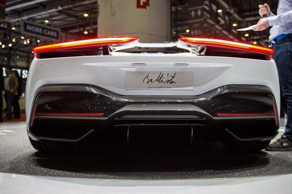 """Ženevos automobilių parodoje pristatytas """"Pininfarina Battista"""""""