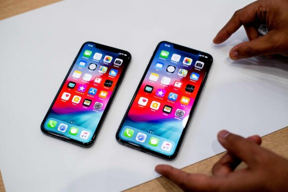 iPhone Xs ir iPhone Xs Max