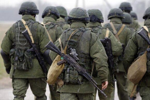 Rusijos kariai be skiriamųjų ženklų