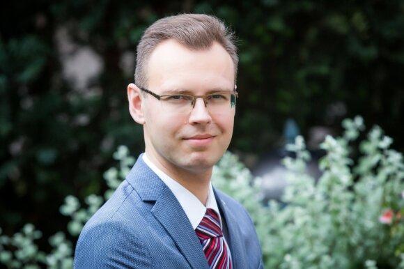 Lietuvos banko ekonomistas Vaidotas Šumskis