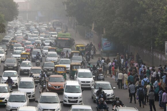 Eismas Indijoje
