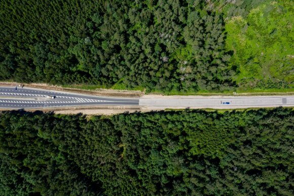 Pradedama rengtis kelio Vilnius–Utena rekonstrukcijai: truks ne vienus metus, kainuos iki 189 mln. eurų