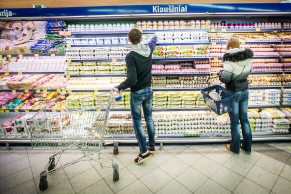 Lithuanians got addicted to large supermarkets after deprivations of the Soviet times