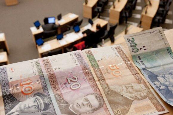 Kas nutiks su euro išstumiamais litais