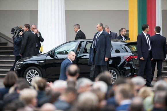 Saugumo priemonės popiežiaus Pranciškaus vizito metu