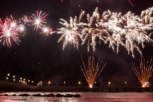 Naujųjų metų sutikimas Palangoje