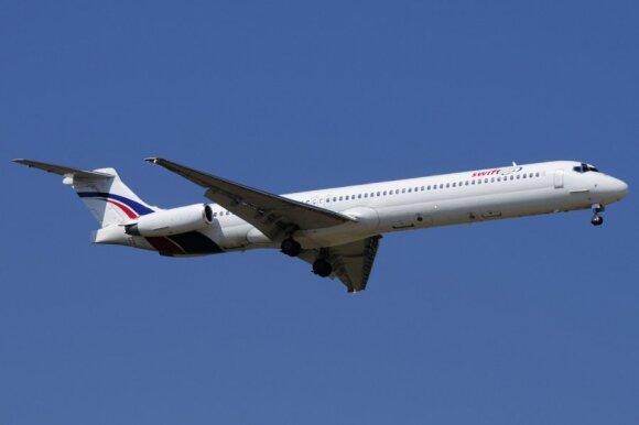Alžyro lėktuvo katastrofa: liudininkas teigia matęs, kur įvyko nelaimė