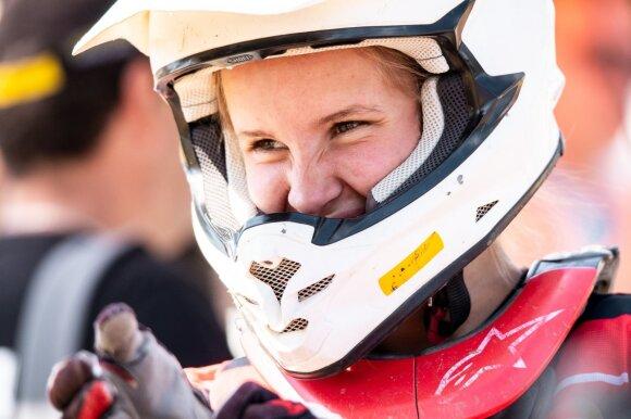 Lietuvos motokroso čempionate – naujovė: ypatingo dėmesio sulaukė moterys