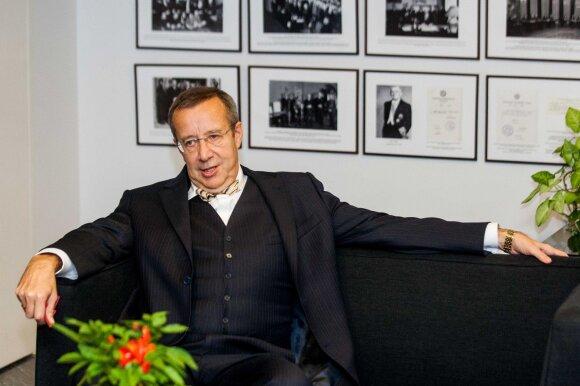 Buvęs Estijos prezidentas pastebi Amerikos technologinį atsilikimą nuo Estijos: mums tai jau kelia juoką