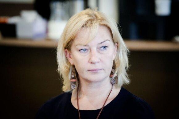 Lietuvos dietologų draugijos prezidentė doc. dr. Edita Gavelienė.